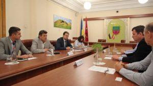 Латвійська делегація у Запоріжжі